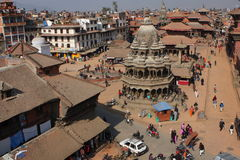 View of the Durbar Square Stock Images