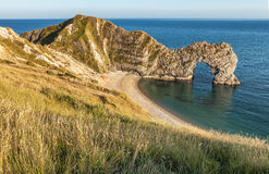 View of Durdle Door in United Kingdom. Royalty Free Stock Photos
