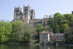 View of Durham Cathedral. Royalty Free Stock Photo
