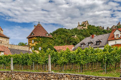 View in Durnstein, Austria Royalty Free Stock Photography