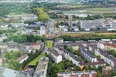 View of Dusseldorf Stock Photos