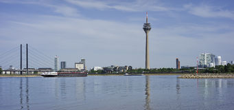 View of Dusseldorf in Germany Royalty Free Stock Photo
