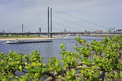 View of Dusseldorf in Germany Royalty Free Stock Images