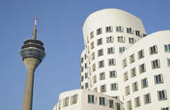 View of Dusseldorf in Germany Stock Photography