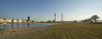View of Dusseldorf in Germany Royalty Free Stock Photos