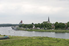 View on the dutch city wessem Stock Image