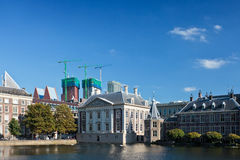 View at the Dutch parliament buildings Royalty Free Stock Photo