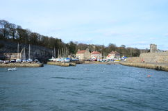 View into Dysart Harbour Stock Photos