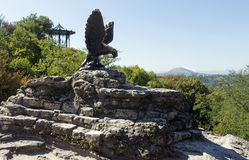 View of Eagle statue Royalty Free Stock Images