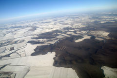 View of Earth from , winter Stock Photography