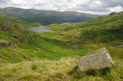 View of Easedale in the Lake District England Stock Image