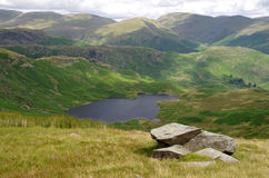 View of Easedale in the Lake District; England Stock Images