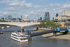 View East along the Thames from th Stock Photo