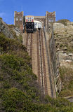 View of the East Hill Railway Lifts in Hastings Royalty Free Stock Photography