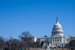 Capitol Building in Summer royalty free stock image