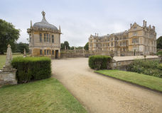View of East Side of Montacute House Royalty Free Stock Image