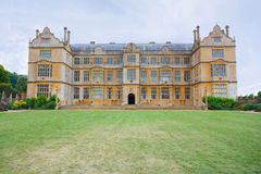 View of East Side of Montacute House Royalty Free Stock Images