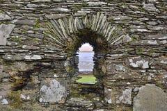 Ancient Scottish Chapel Window Royalty Free Stock Photos