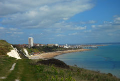 A view on Eastbourne town, England, Sussex, UK Stock Image