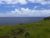 View of Easter Island Royalty Free Stock Photo