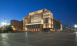 View of the eastern facade of the old Hotel Moskva Stock Photography