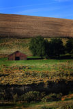 View of Eastern Oregon Farm Land Stock Images