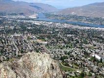 View of Eastern Washington landscape Stock Images