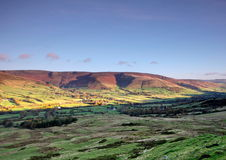A view of the Edale valley Royalty Free Stock Photos
