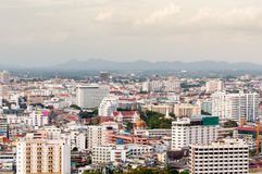 View edifice of pattaya city Stock Photography