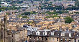 View on Edinburgh Royalty Free Stock Photography