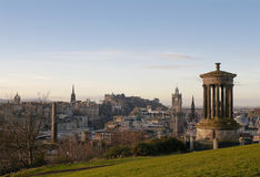 View of Edinburgh Royalty Free Stock Photos