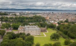 View of Edinburgh from Arthur's Seat Royalty Free Stock Photo