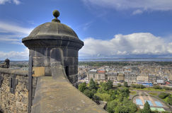 View from Edinburgh Castle Royalty Free Stock Photography