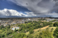 View from Edinburgh Castle Royalty Free Stock Photo