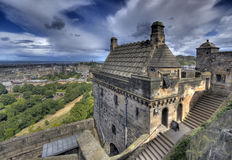 View from Edinburgh Castle Stock Images