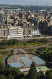 View from Edinburgh Castle Stock Photos