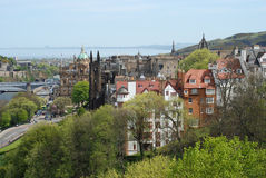 The view of Edinburgh Stock Photo