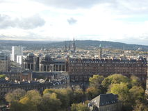 View at Edinburgh Royalty Free Stock Photography