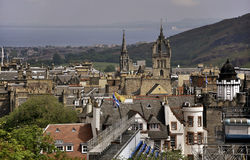 View of Edinburgh, Scotland stock images