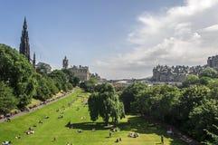View of Edinburgh, Scotland Royalty Free Stock Photo