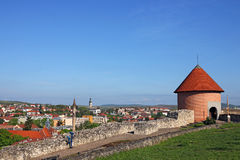 View from Eger fortress. Hungary Royalty Free Stock Photos