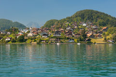 View on Egg from Thun Lake Stock Image