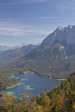 View at Eibsee Stock Image