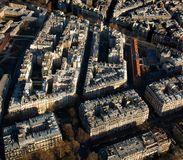 View from the Eifel Tower, Paris France Stock Images