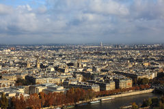 View from eiffel. On the eifel you have a graet view over the city Royalty Free Stock Images