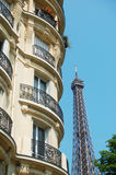View at Eiffel Tower Royalty Free Stock Photos