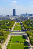 View from the Eiffel tower Royalty Free Stock Photography