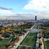 View from Eiffel Tower Stock Images