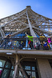 View of the Eiffel Tower from below Royalty Free Stock Photography