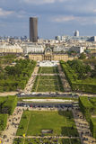 View from the Eiffel Tower Royalty Free Stock Photos